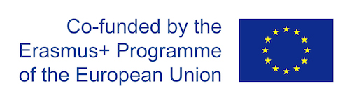 EU flag and text saying 'co-founded by the EU'